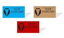 Карточки клуба Vip Стоковое фото RF