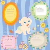 карточки младенца Стоковая Фотография RF