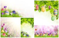 Карточки пасхи праздника Стоковое Изображение