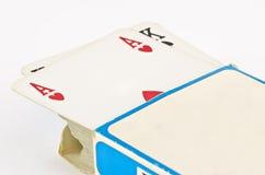 Карточки покера Стоковые Фотографии RF