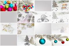 Карточки подарка, трейлер рождества Стоковая Фотография RF