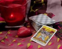 Карточки таро Стоковое Изображение RF