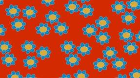 Карточки тканей с цветками Стоковое Фото