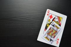 карточки топят играть покер королевский покер игра иллюстрация штока