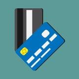 карточки чредитуют 2 Стоковое фото RF