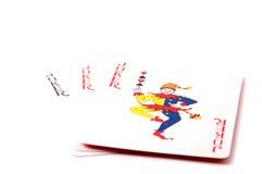 3 карточки шутника Стоковое Фото