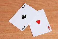 карточки 2 Стоковые Изображения RF