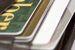 карточки Стоковое Изображение RF