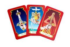 Карточки Tarot Стоковые Фото
