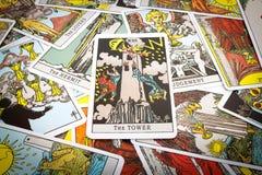 Карточки Tarot Tarot Стоковое Изображение RF
