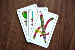 Карточки Truco Стоковая Фотография RF
