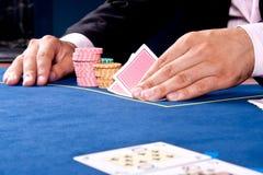 карточная игра Стоковая Фотография RF