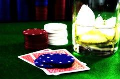карточная игра 5 Стоковое фото RF