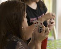 карточная игра Стоковое фото RF
