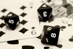 карточная игра Стоковые Изображения