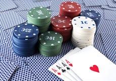 карточные игры Стоковые Фото