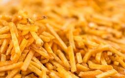 Картошка вставляет фоновое изображение Стоковые Изображения RF