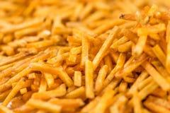 Картошка вставляет фоновое изображение Стоковые Изображения