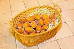 картошка корзины Стоковое Изображение RF