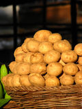 картошка корзины Стоковое фото RF