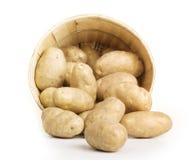 картошка корзины Стоковое Изображение