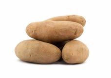 Картошка на белой предпосылке Стоковое Изображение RF