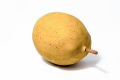 Картошка на белой предпосылке Стоковое Изображение