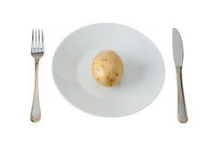 картошка плиты Стоковые Фотографии RF