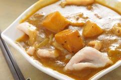 Картошка свинины карри Стоковые Фото