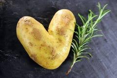 Влюбленность Potatoe стоковое фото