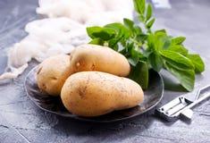 картошка сырцовая Стоковая Фотография RF
