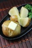 Картошка с маслом Стоковая Фотография