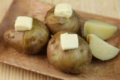 Картошка с маслом Стоковое фото RF