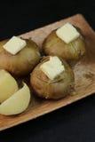 Картошка с маслом Стоковые Изображения RF