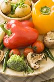Картошка с овощами Стоковая Фотография RF
