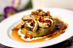 картошка тарелки Стоковое Фото