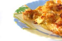 картошка цыпленка сыра вниз Стоковое Фото