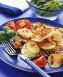 картошка gratin стоковое фото rf