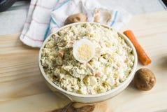 картошка salad5 Стоковые Фото