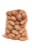 Картошки в мешке. Стоковое фото RF