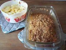 Картошки и Meatloaf Scaloped стоковое изображение rf