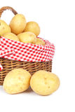картошки корзины Стоковое фото RF