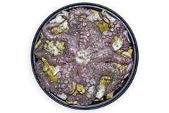 картошки луков восьминога Стоковое фото RF
