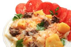картошки мяса Стоковое Фото