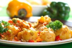 картошки перца печи Стоковые Изображения