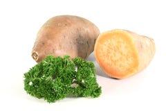 картошки петрушки сладостные Стоковое Фото