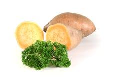 картошки петрушки сладостные Стоковые Изображения RF
