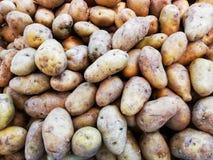 картошки Полно-рамки использованы для предпосылок еды стоковые изображения