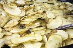 Картошки сковороды Стоковая Фотография RF