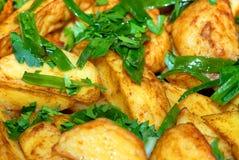 картошки тарелки Стоковое фото RF
